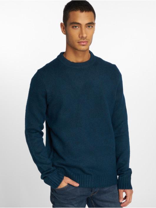 Only & Sons Swetry onsPatrick 5 Knit niebieski