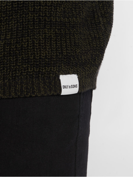Only & Sons Swetry onsSato 5 oliwkowy