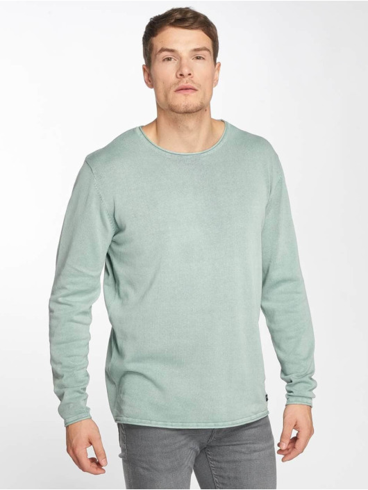 Only & Sons Swetry onsGarson Wash turkusowy