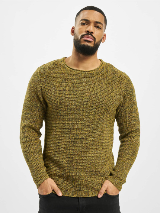 Only & Sons Swetry onsSato 5 Multi CLR Knit Noos zólty