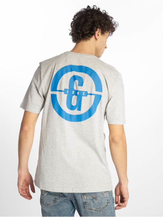 Only & Sons T-paidat onsEdward Logo harmaa
