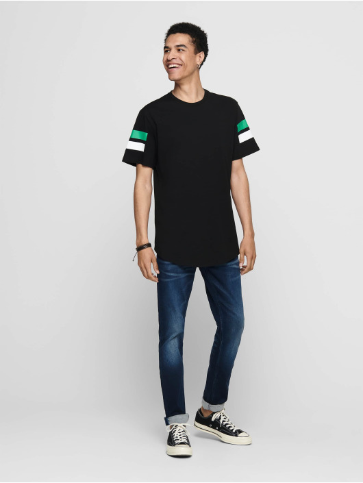 Only & Sons T-paidat onsStripey Longy musta