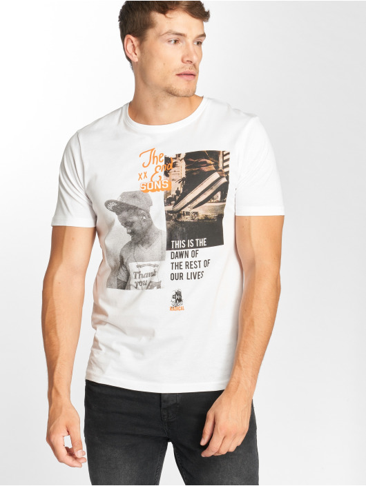 Only & Sons T-Shirt onsGabriel blanc