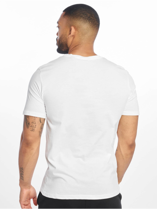 Only & Sons T-Shirt onsPetal Fitted Camp blanc