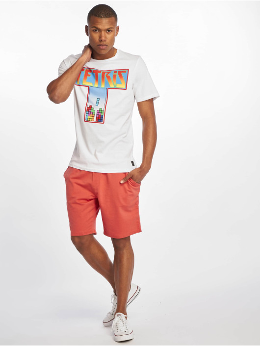 Only & Sons T-Shirt onsLuke Tetris blanc