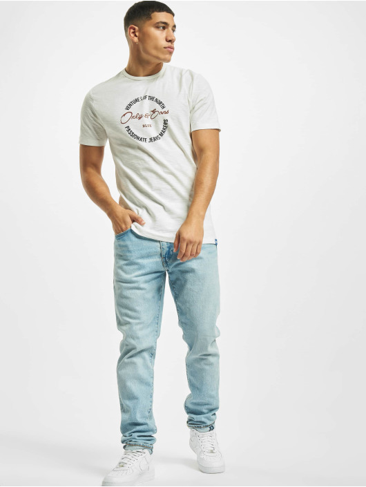 Only & Sons T-Shirt onsBruce Life blanc