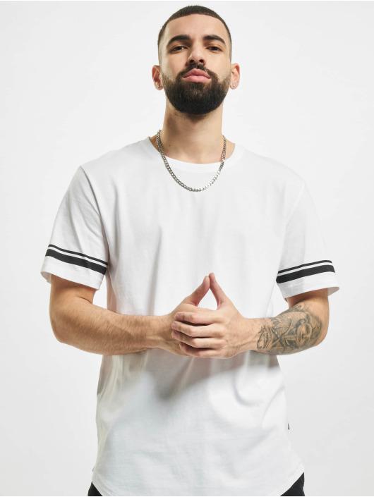 Only & Sons T-Shirt onsMatt Life Longy Slv Stripe blanc