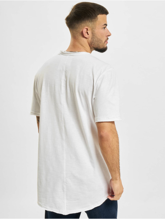 Only & Sons T-Shirt Ons Benne Life Longy NF 7822 blanc