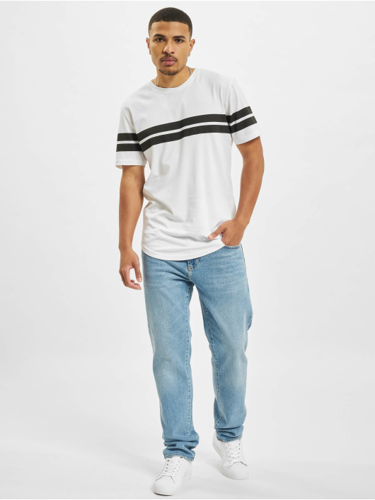 Only & Sons T-Shirt Onsbike blanc