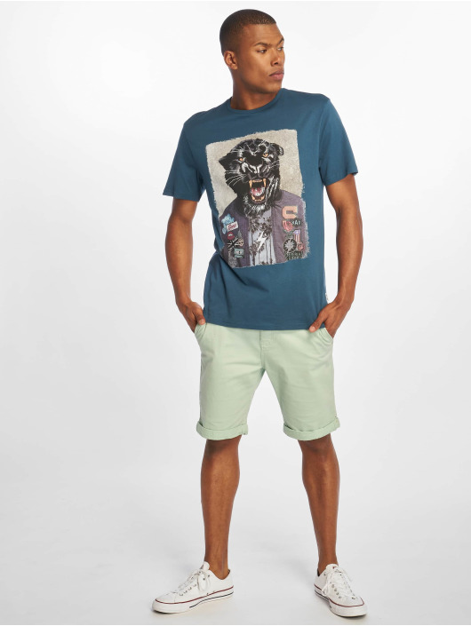 Only & Sons T-Shirt onsLoris Funny blau