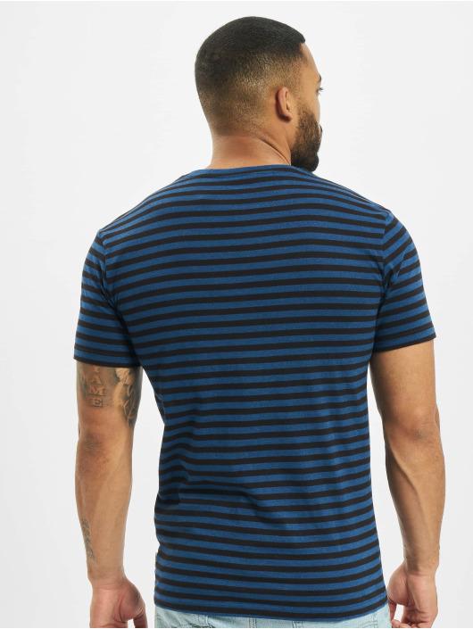 Only & Sons T-Shirt onsJamie Life Stripes Reg Noos blau