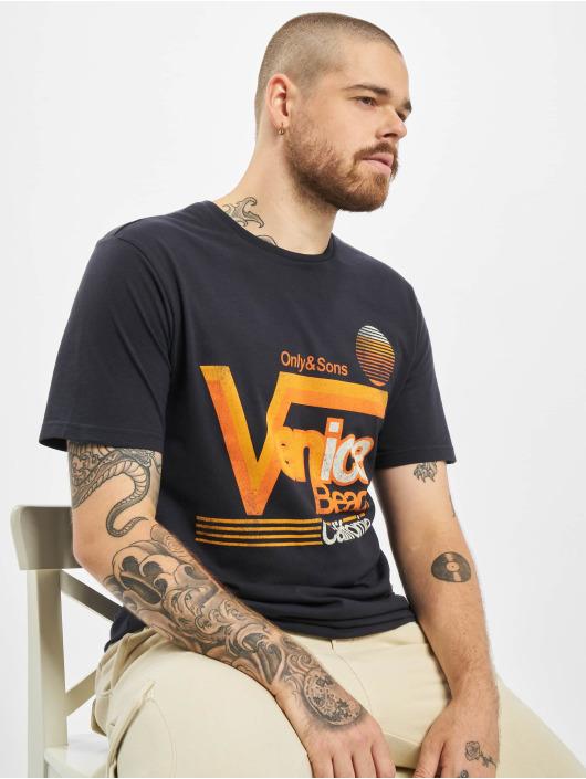 Only & Sons T-Shirt onsCali blau