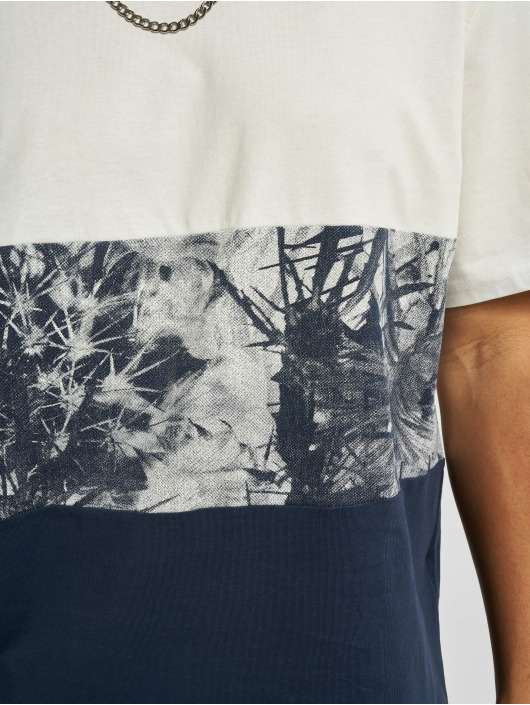 Only & Sons T-Shirt Ons Teddy Block Life REG NF 0261 blau