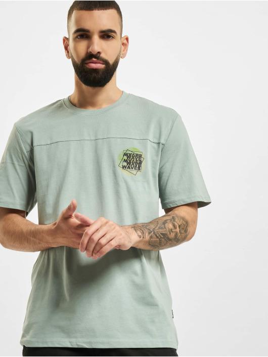 Only & Sons T-Shirt Onsatik Life REG blau