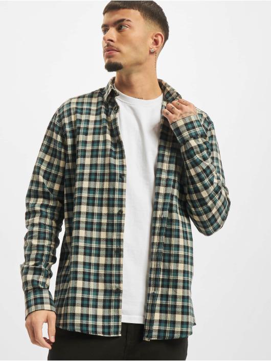 Only & Sons T-Shirt Onsnirel Checked blau