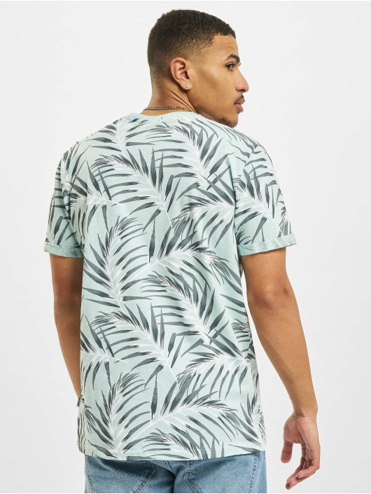 Only & Sons T-Shirt Ons Iason Slim Aop NOOS bleu