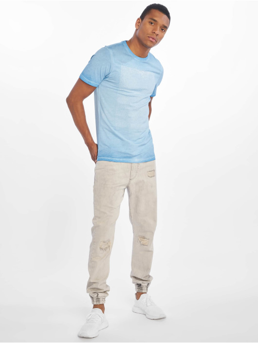 Only & Sons T-Shirt onsPatrik Oil Dye blue