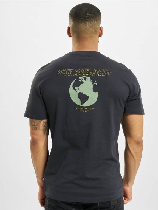 Only & Sons T-Shirt Onsadam Life Reg blue