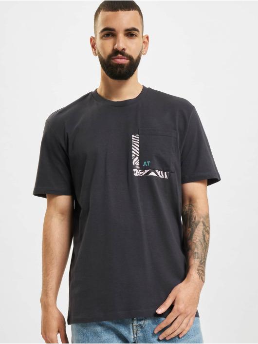 Only & Sons T-Shirt Onsasbjorn Life REG Pocket blue