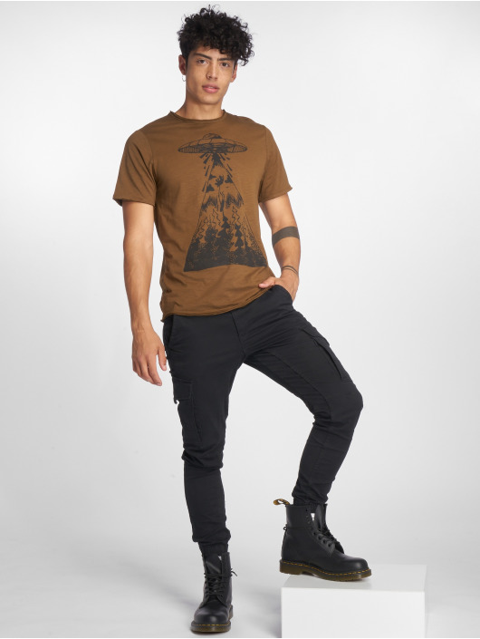Only & Sons T-Shirt onsGarreth brown