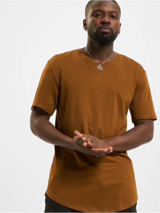 Only & Sons T-Shirt Onsmatt Life brown