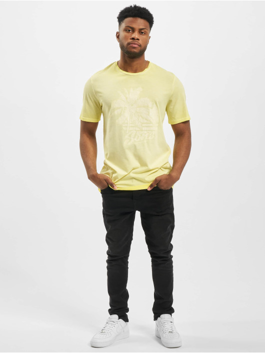 Only & Sons t-shirt onsPimmit Neon geel