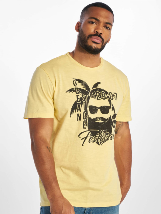 Only & Sons T-Shirt onsPromto Regular gelb