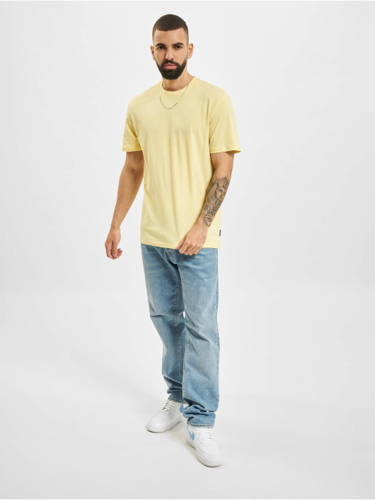 Only & Sons T-Shirt Onsarne Life REG gelb
