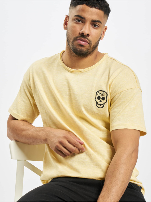 Only & Sons T-shirt onsCali Life Drop giallo