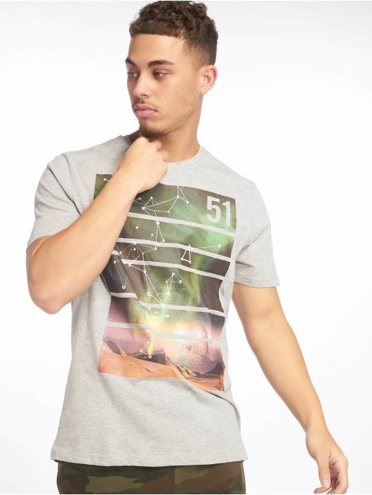 Only & Sons T-Shirt onsLaban Camp grau