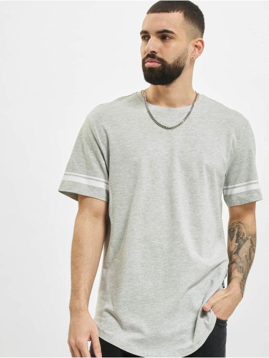 Only & Sons T-Shirt onsMatt Life Longy Slv Stripe grau