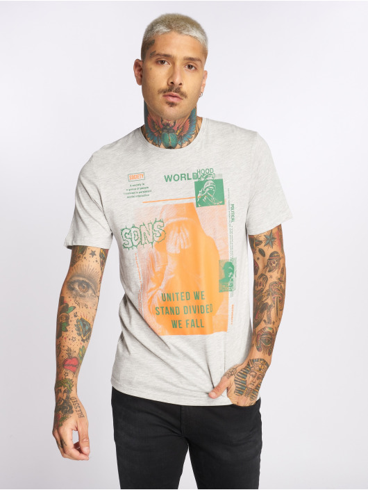 Only & Sons T-Shirt onsFabio gray