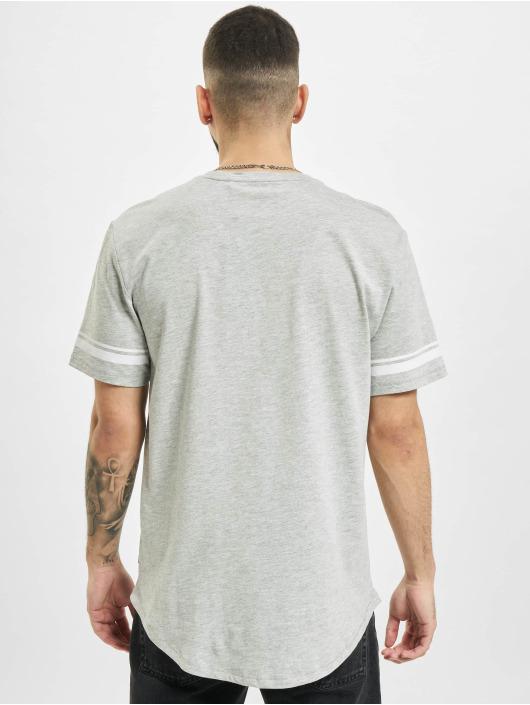 Only & Sons T-Shirt onsMatt Life Longy Slv Stripe gray