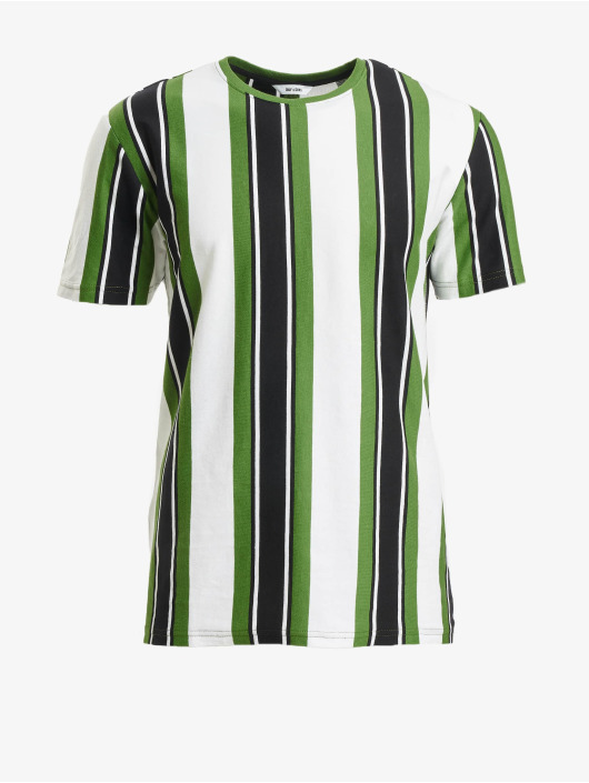Only & Sons T-Shirt onsRis Stripe green