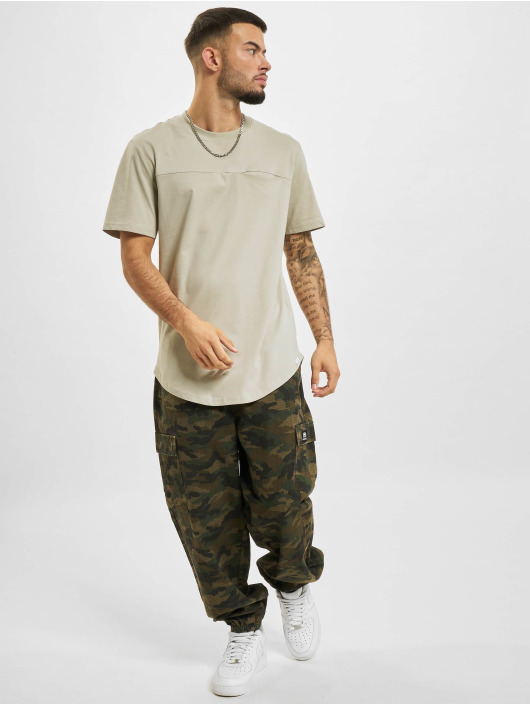 Only & Sons T-Shirt Ons Dash Life Longy NF 8623 grey