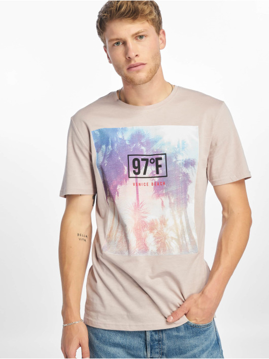 Only & Sons t-shirt onsLayrence Camp grijs