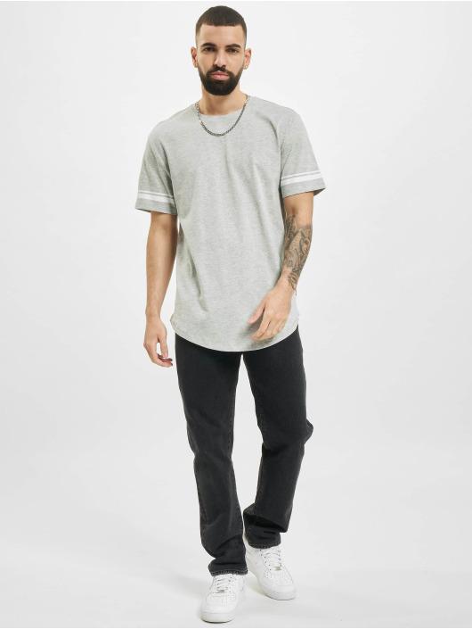 Only & Sons T-Shirt onsMatt Life Longy Slv Stripe gris