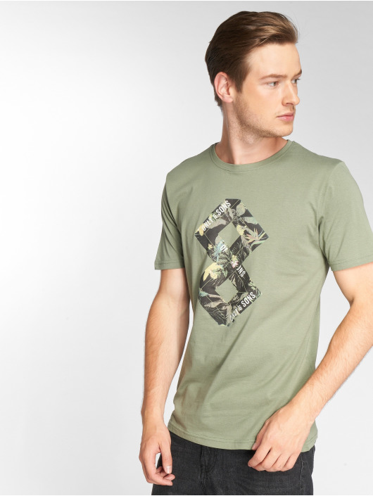 Only & Sons t-shirt onsDorm groen