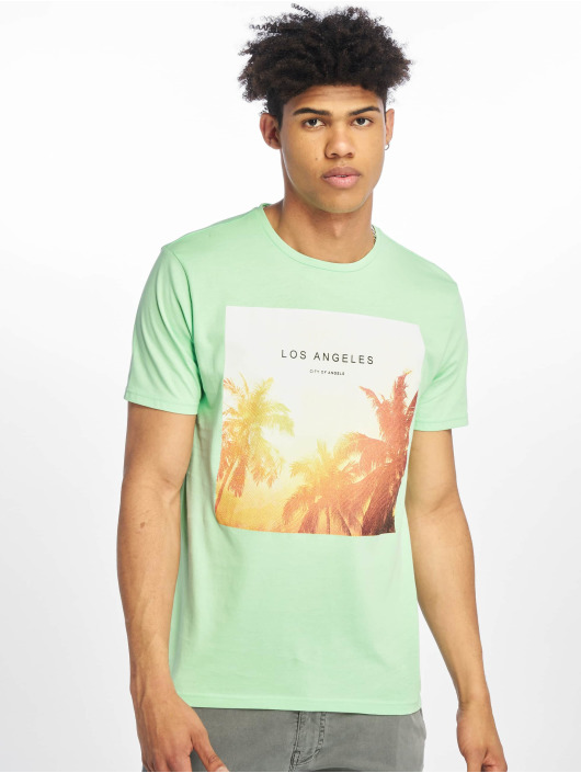 Only & Sons T-Shirt onsLamani Camp Fitted grün