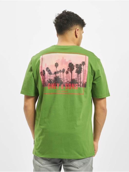 Only & Sons T-Shirt onsRover Regular grün