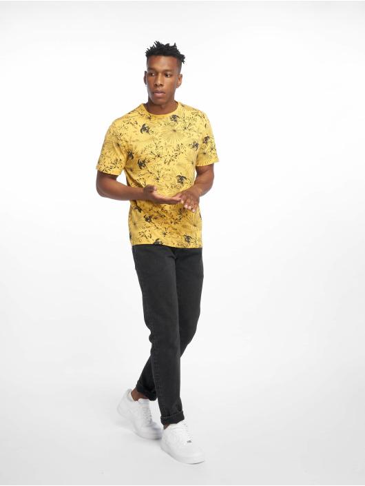 Only & Sons T-Shirt onsEmil Slub Regular jaune