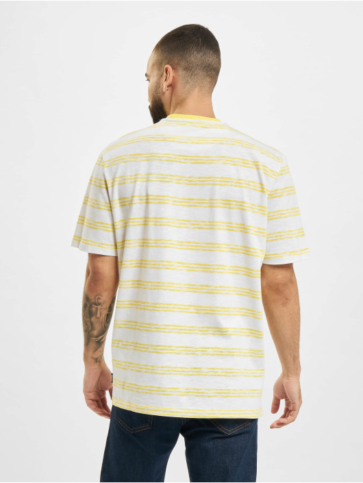 Only & Sons T-Shirt onsPivot Reg Summer Stripe jaune