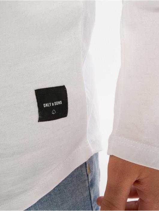 Only & Sons T-Shirt manches longues onsMatt blanc