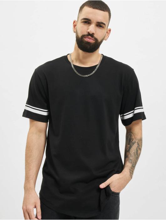Only & Sons T-Shirt onsMatt Life Longy Slv Stripe noir