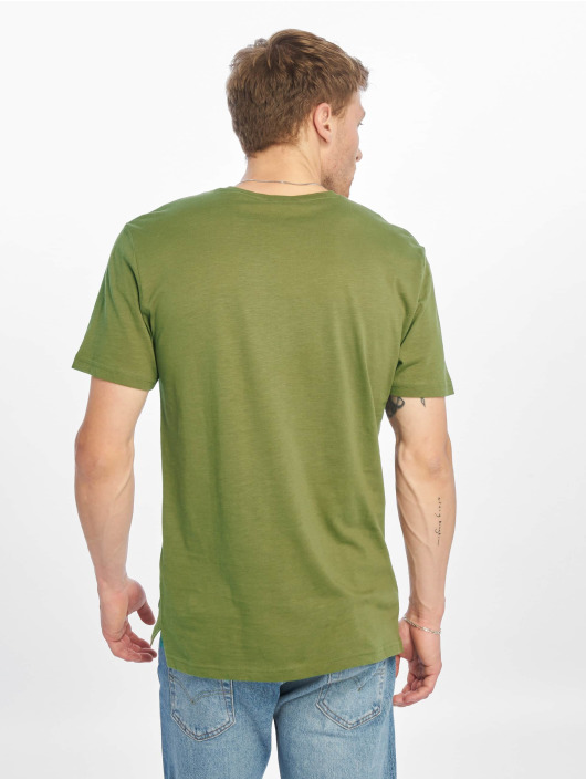 Only & Sons t-shirt onsLayrence Camp olijfgroen