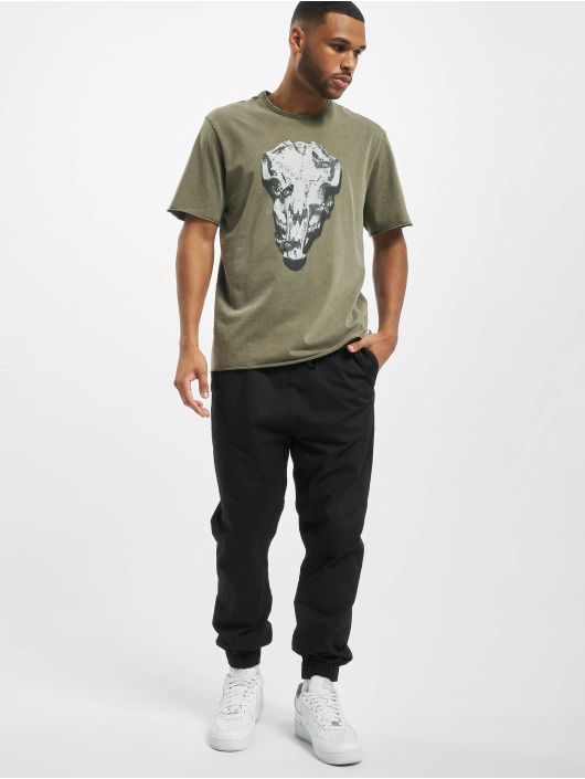 Only & Sons T-Shirt onsBuster Life Reg olive