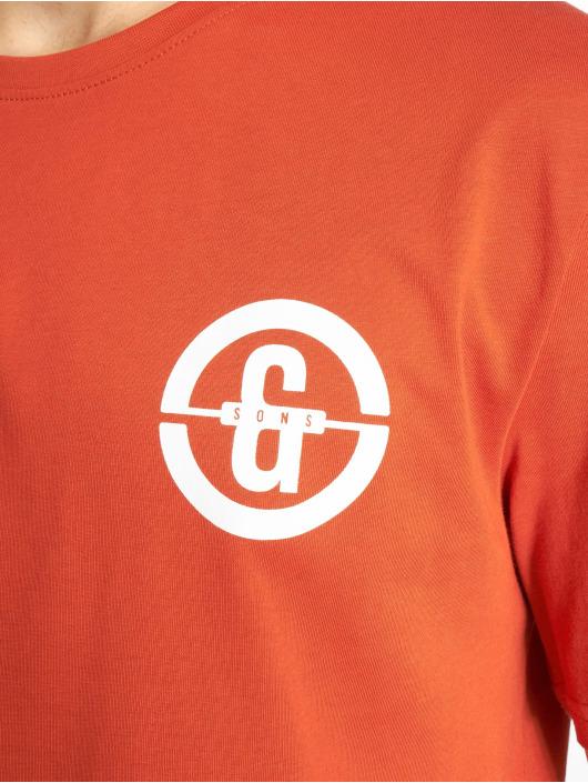 Only & Sons T-Shirt onsEdward Logo orange