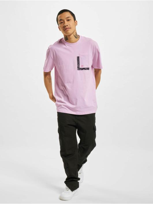 Only & Sons T-Shirt Onsasbjorn Life REG Pocket purple