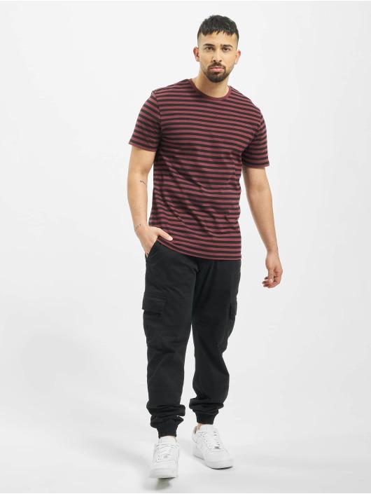 Only & Sons T-Shirt onsJamie Stripe Regular Noos red