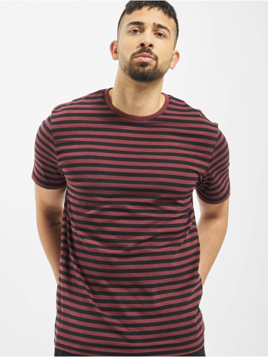 Only & Sons T-Shirt onsJamie Stripe Regular Noos rot